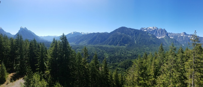 Panoramic View from the Lookout