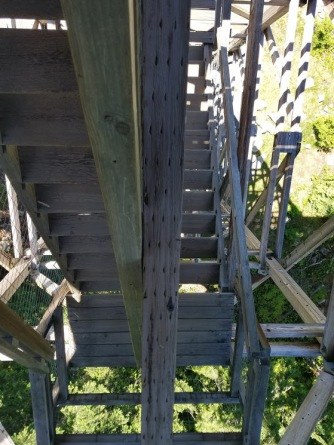 Stairs on the Tower